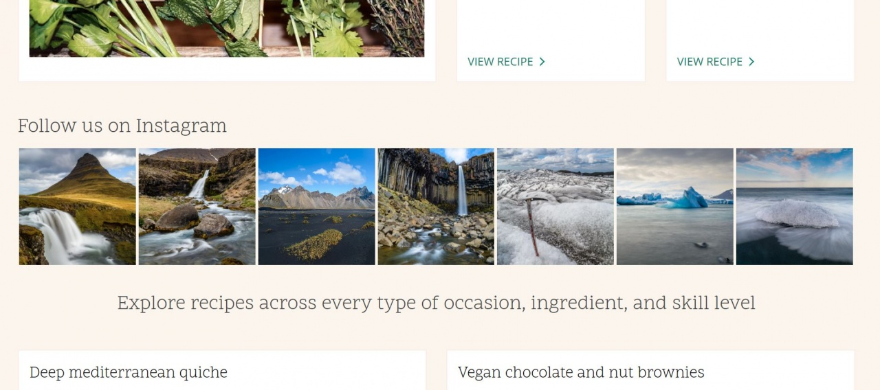 Example of our widget on Drupal website